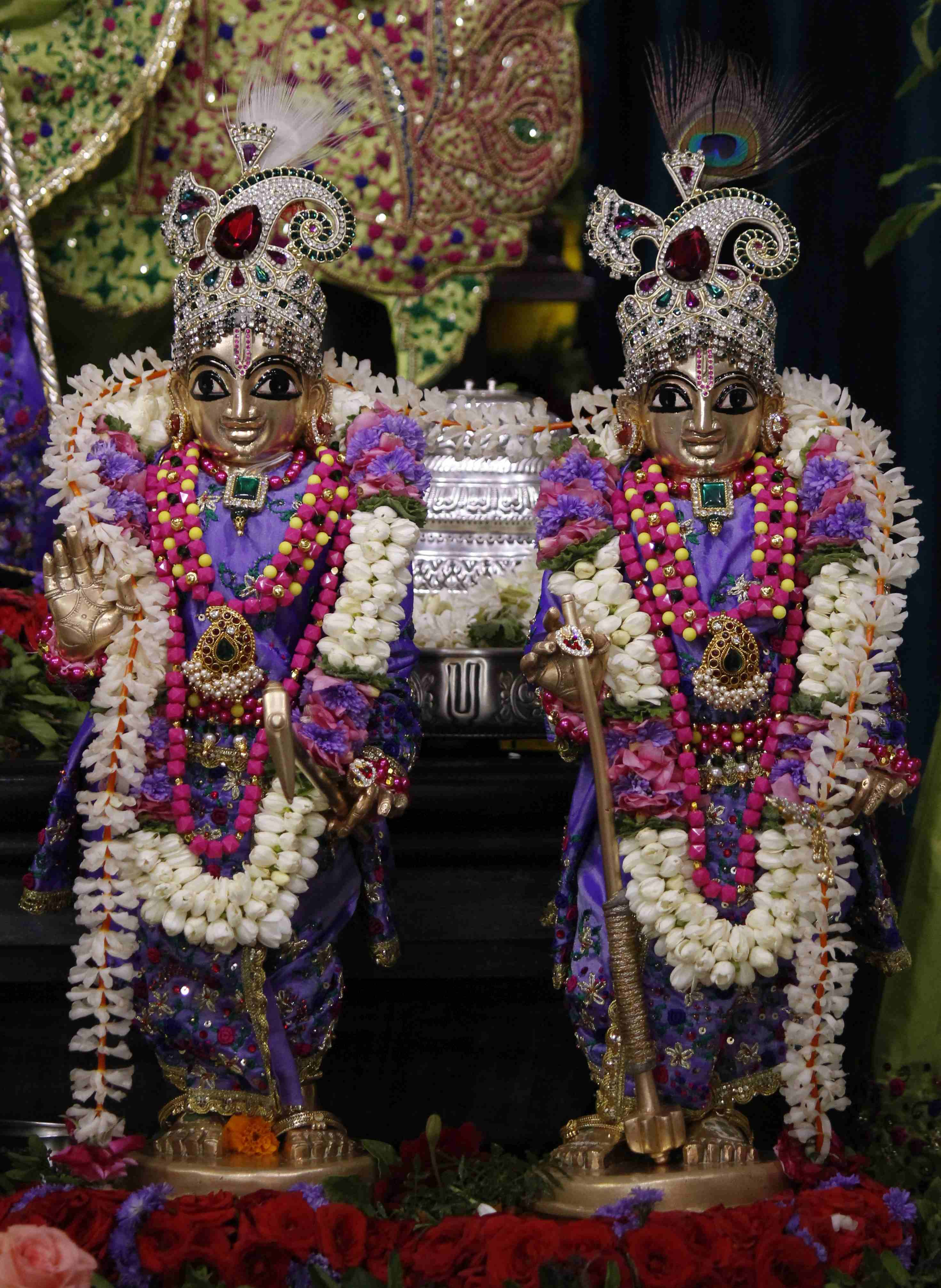 Special Alankar to Utsava Deities