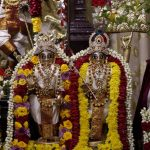 Utsava Krishna decorated as Govardhana Giridhari Alankar