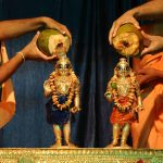 Sri Sri Krishna Balaram Abhishekam with tender coconut water